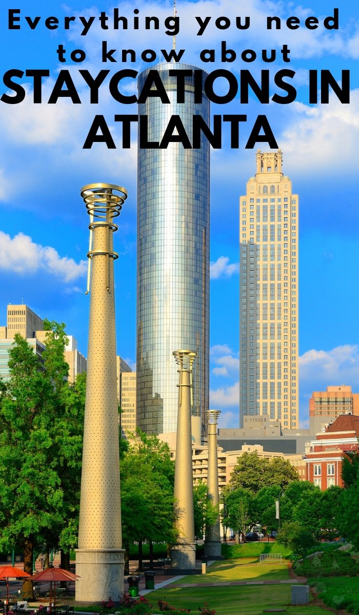 There are so many things to do in Atlanta, you could vacation without leaving the city. Here are some Staycation Atlanta ideas to get you started. #atlanta #staycations #ourroaminghearts #georgia | Things to do in Georgia | Atlanta things to do | Staycation Ideas | Staycation Atlanta Ideas | Travel