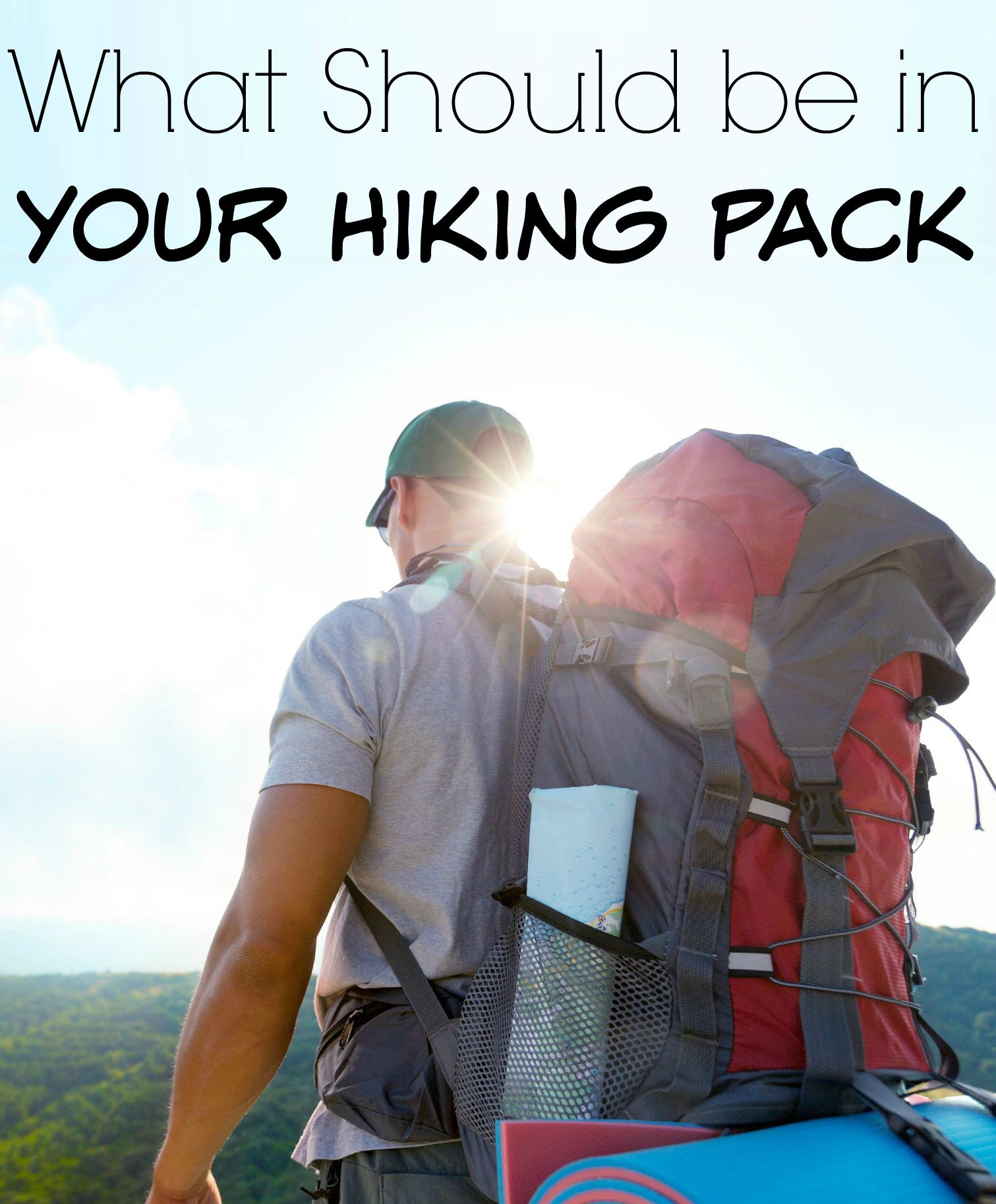 What Should be in Your Hiking Pack