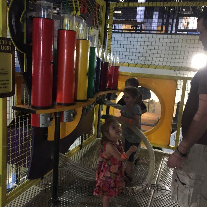 Adventure Science Center Air Organ