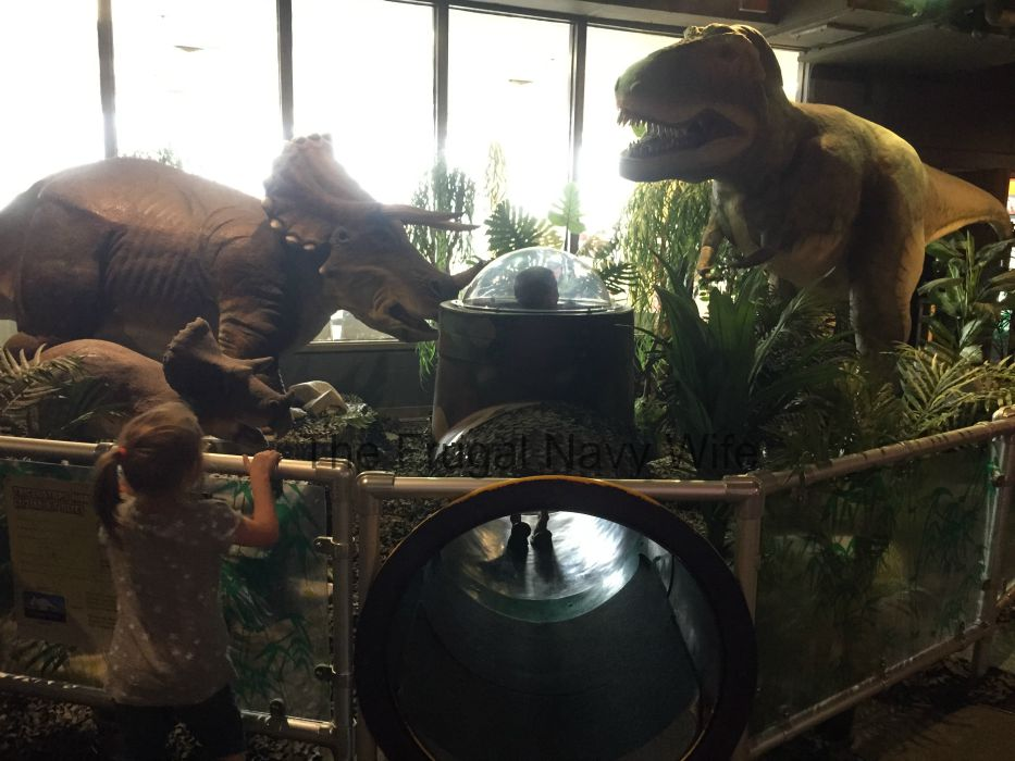 Adventure Science Center Dinos