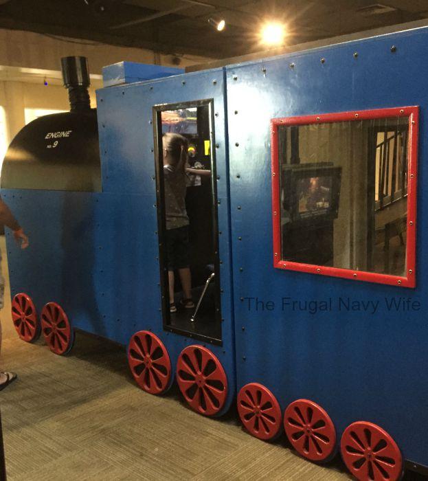 Adventure Science Center Train