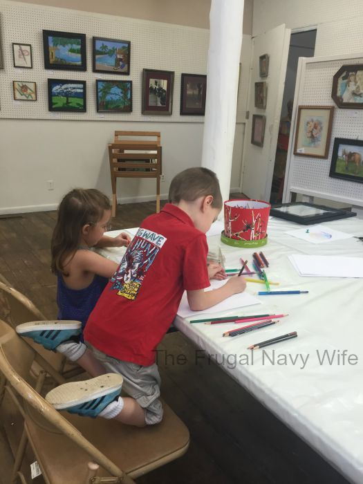 Cannonsburgh Village Murfreesboro, Tennessee Kids Coloring