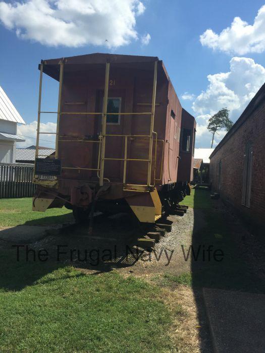 Cannonsburgh Village Murfreesboro, Tennessee Train