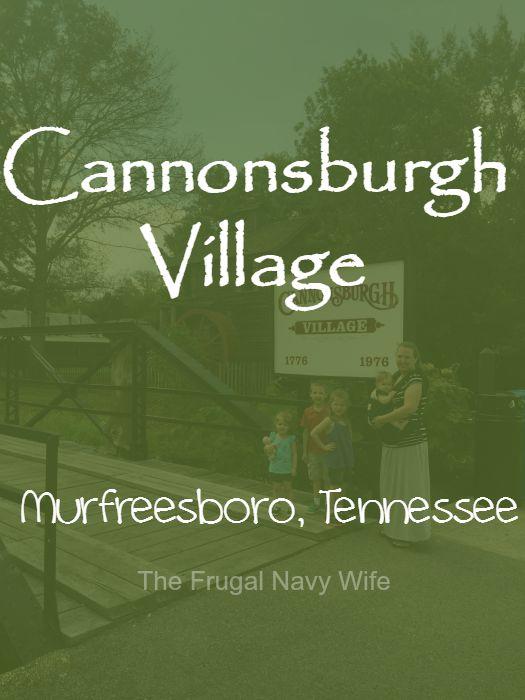 Cannonsburgh Village Murfreesboro, Tennessee