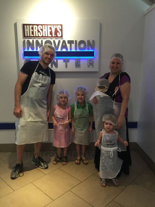 Hershey's Chocolate World – Hershey, Pennsylvania Hair Nets