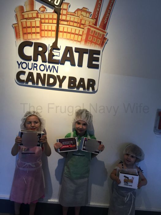 Hershey's Chocolate World – Hershey, Pennsylvania Holding Chocolate