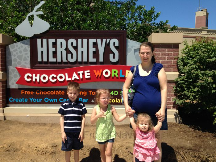 Hershey's Chocolate World – Hershey, Pennsylvania Preggo