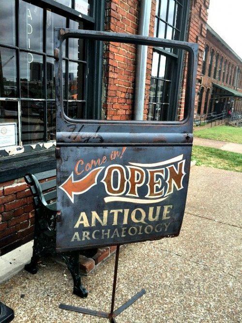 Antique Archaeology Nashville Shop