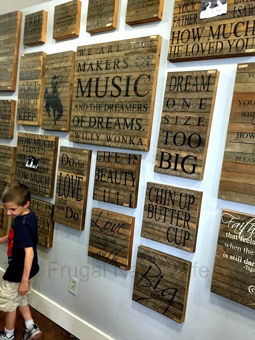 Antique Archaeology and Surrounding Shops – Nashville, Tennessee Wood Signs