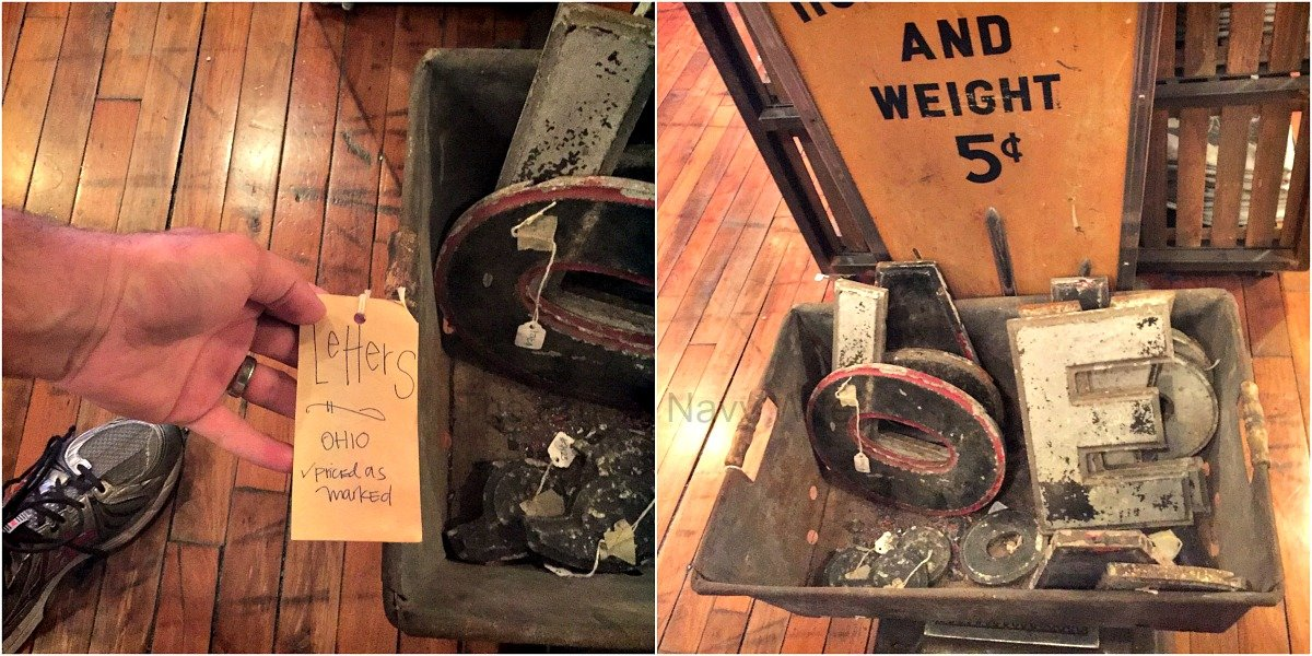 Antique Archaeology and Surrounding Shops – Nashville, Tennessee Letters
