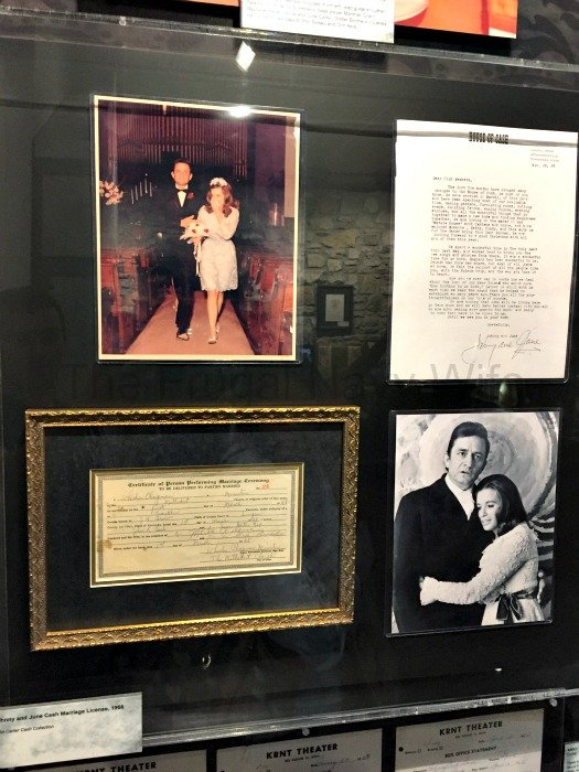 Johnny Cash Museum – Nashville, Tennessee June Marriage