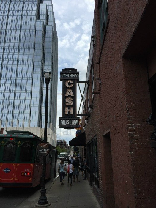 Johnny Cash Museum – Nashville, Tennessee Sign