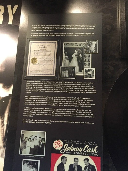 Johnny Cash Museum – Nashville, Tennessee Vivian