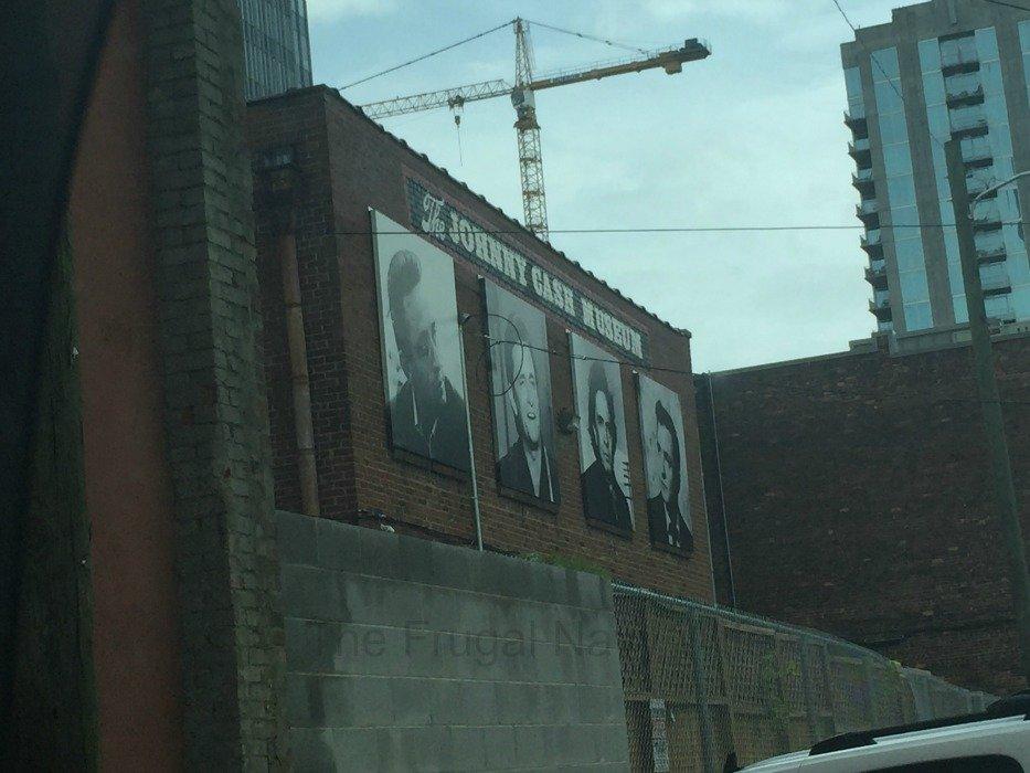 Johnny Cash Museum – Nashville, Tennessee Back of Building