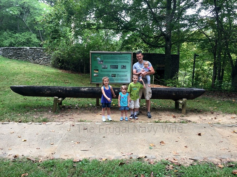 Old Stone Fort State Archaeological Park – Manchester, Tennessee Canoe