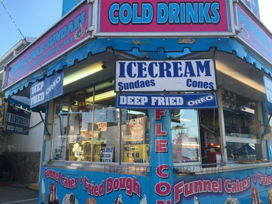Tennessee State Fair - Nashville, Tennessee Food Stand Blue