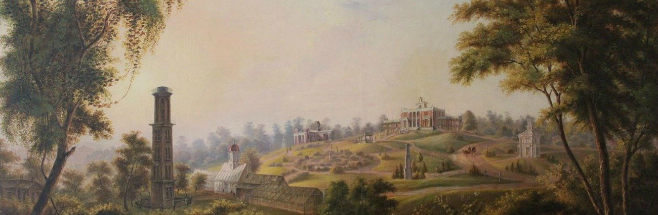 The Belmont Mansion – Nashville, Tennessee Belmont Painting