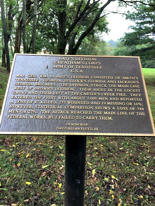 The Carter House – Franklin Tennessee Battle Division