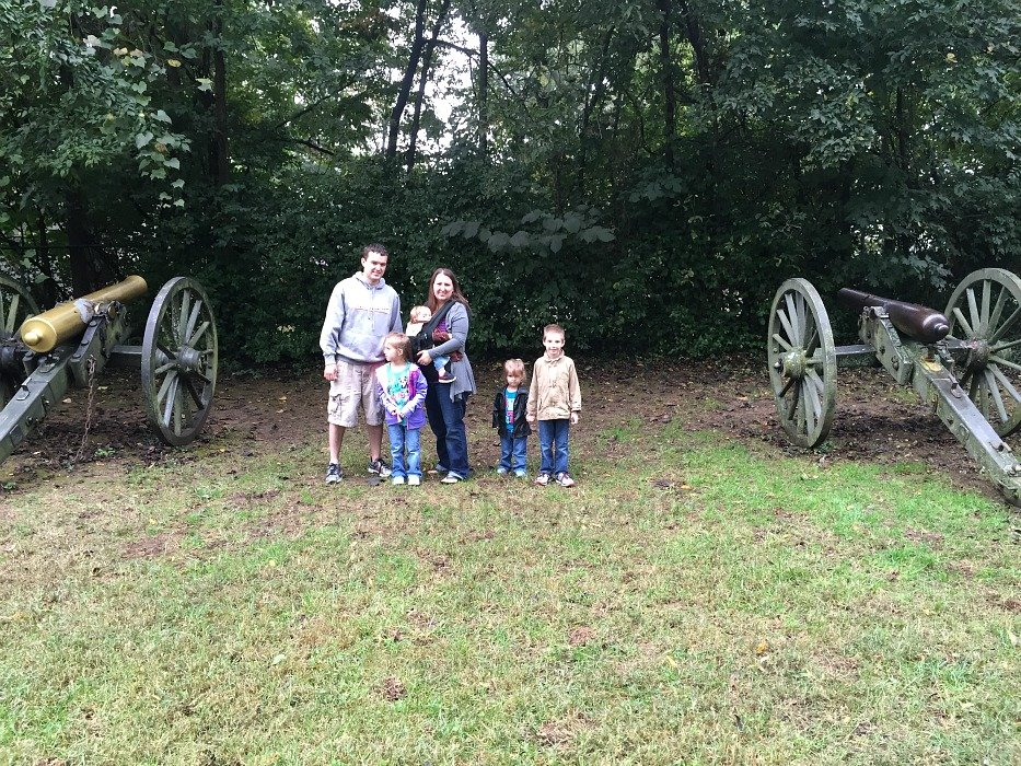 The Carter House – Franklin Tennessee Cannons