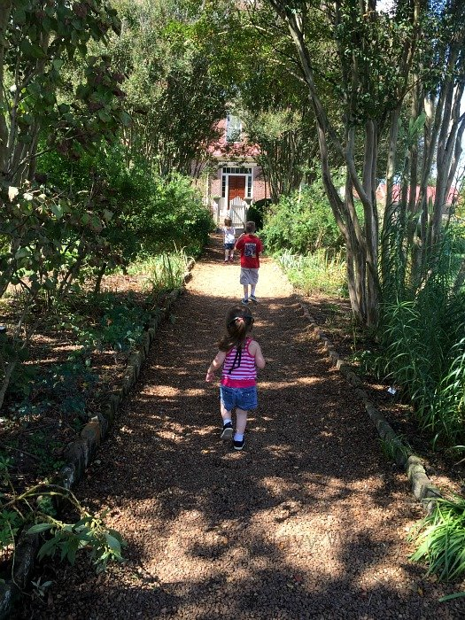 The Hermitage, Home of Andrew Jackson – Nashville, Tennessee Kids Walking Garden