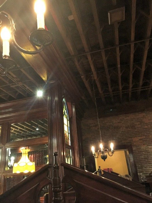 The Old Spaghetti Factory – Nashville, Tennessee ceiling