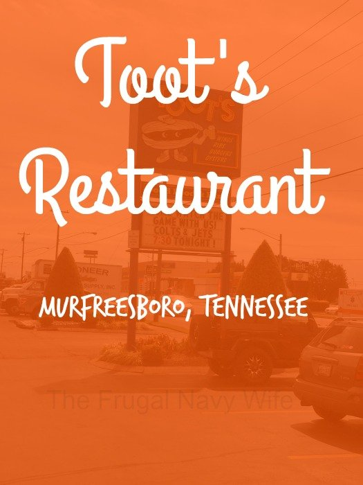 Toot's Restaurant – Murfreesboro, Tennessee