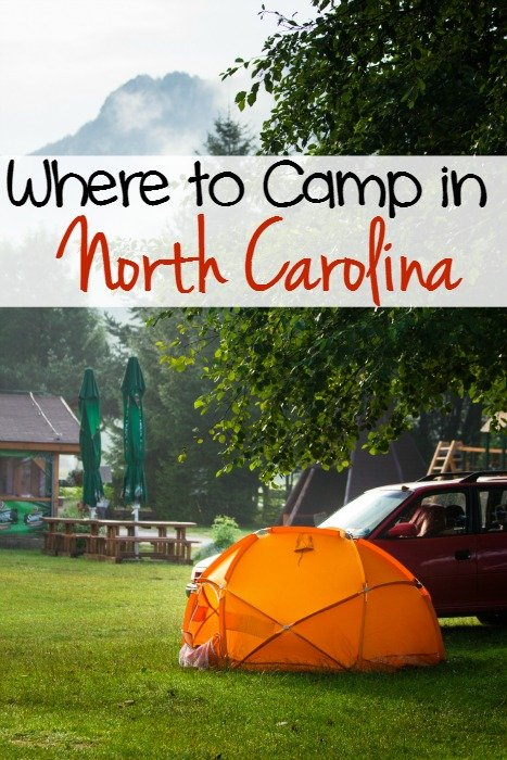 Where to Camp in North Carolina