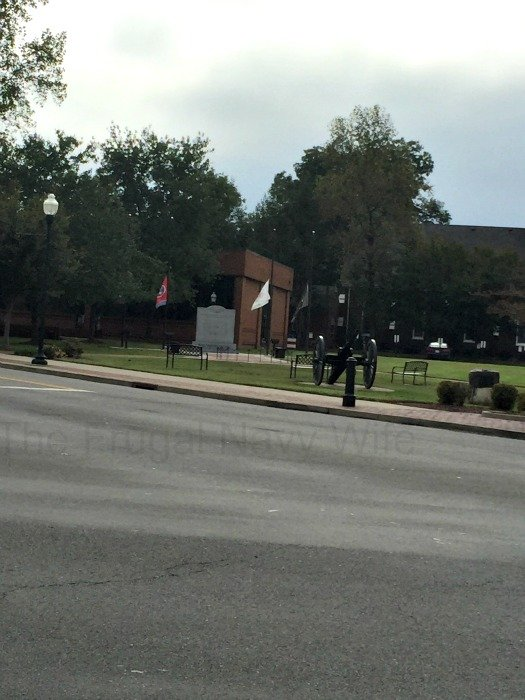 Downtown Franklin, Tennessee 2nd Cannon Mem