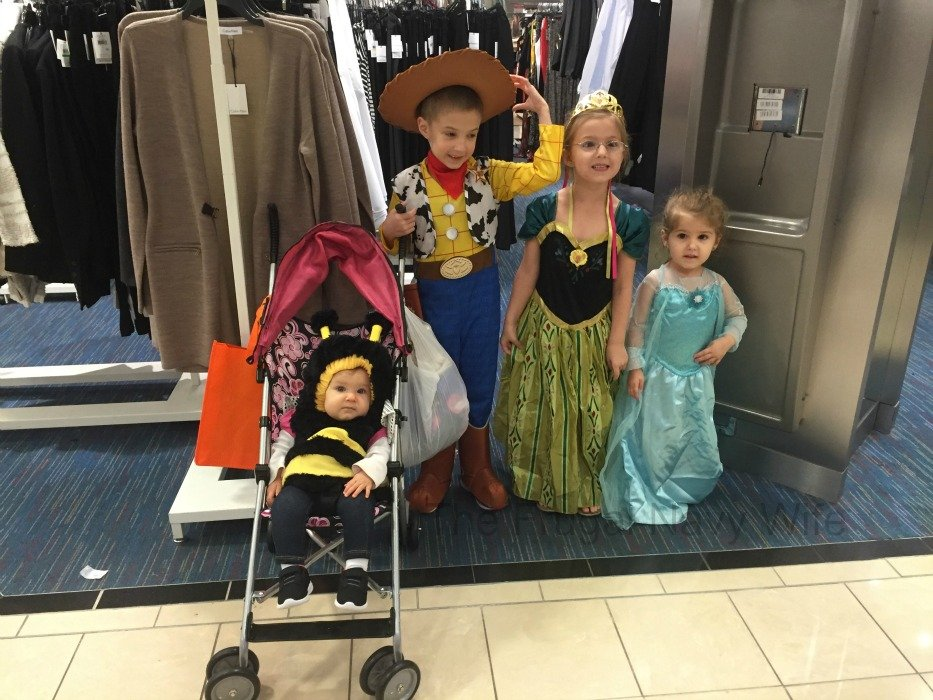 How We Do Halloween Living in an RV! Kids in Costume