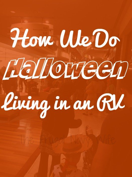 How We Do Halloween Living in an RV!