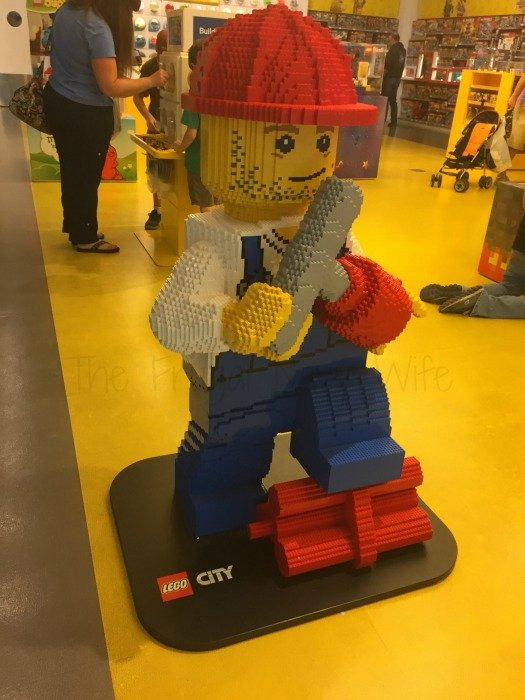 Lego Store – Nashville, Tennessee Lego Man
