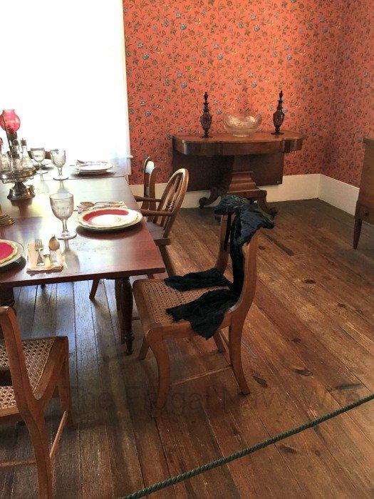 Sam Davis House – Smyrna, Tennessee Dinning Room