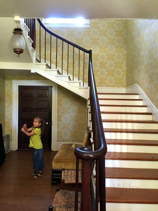 Sam Davis House – Smyrna, Tennessee Stairs