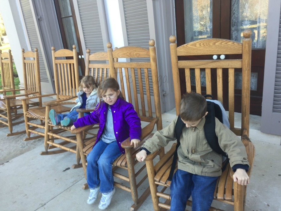 Belle Meade Plantation - Nashville, Tennessee Rocking Chairs
