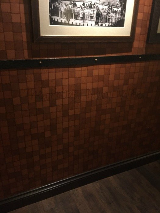 Grand Ole Opry – Nashville, Tennessee Chair Rail