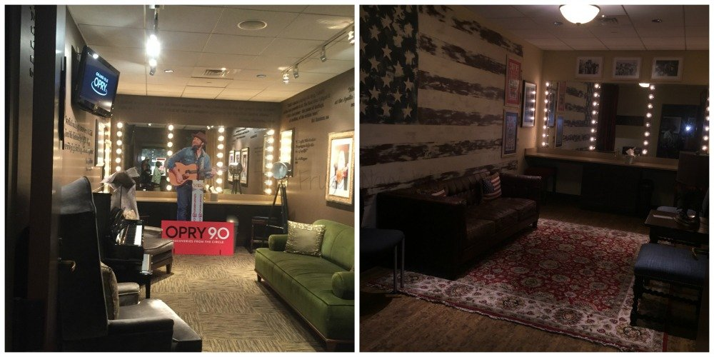 Grand Ole Opry – Nashville, Tennessee Dressing Rooms