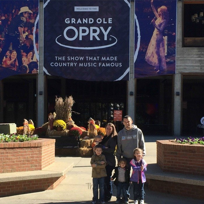 Grand Ole Opry – Nashville, Tennessee Family pic