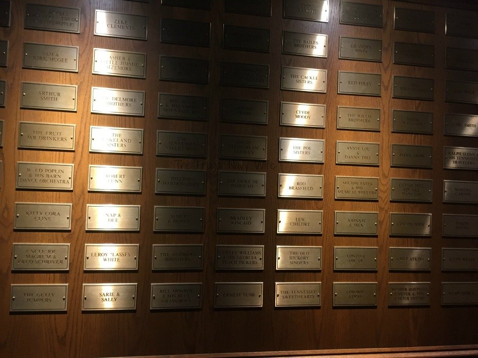 Grand Ole Opry – Nashville, Tennessee Names