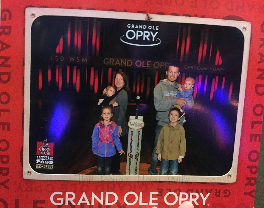 Grand Ole Opry – Nashville, Tennessee Our Pic