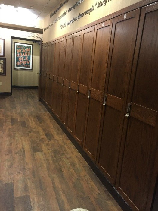 Grand Ole Opry – Nashville, Tennessee lockers