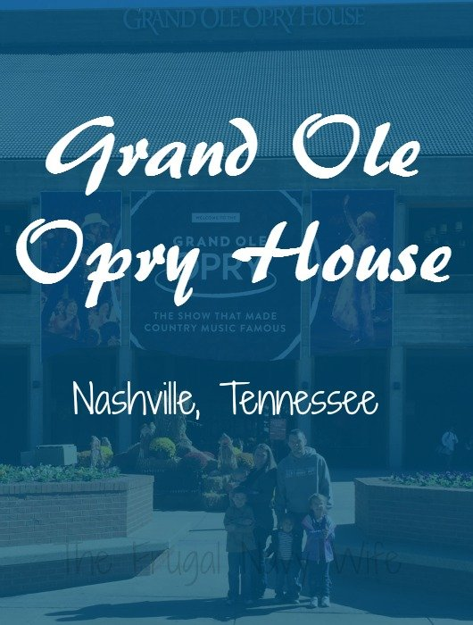 Grand Ole Opry – Nashville, Tennessee