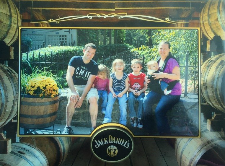 Jack Daniel's Distillery Tour – Lynchburg, Tennessee Family Pic