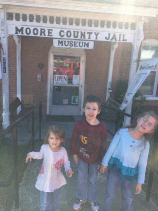 Old Moore County Jail – Lynchburg, Tennessee Front