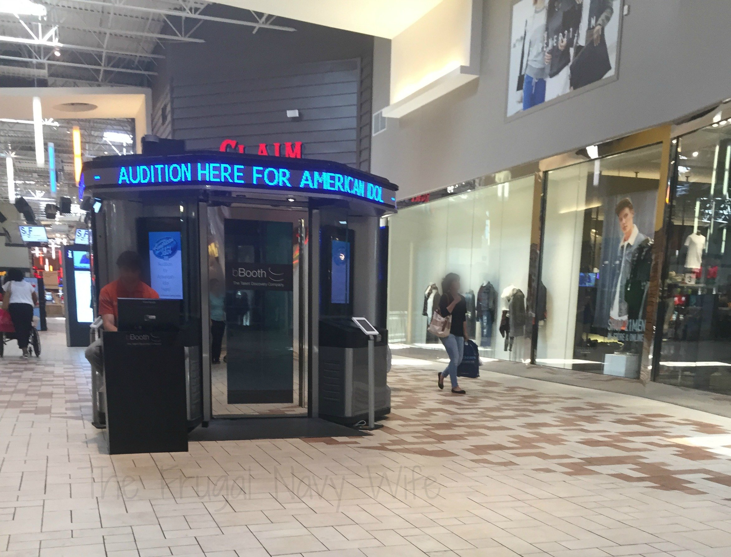 Opry Mills Mall – Nashville, Tennessee American Idol Booth