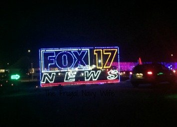 Yogi Bear RV Resort Christmas Light Show – Nashville, Tennessee Fox Lights
