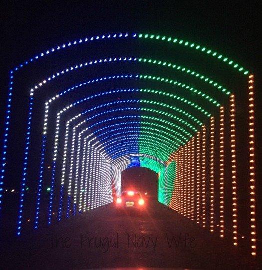 Yogi Bear RV Resort Christmas Light Show – Nashville, Tennessee Last Tunnel
