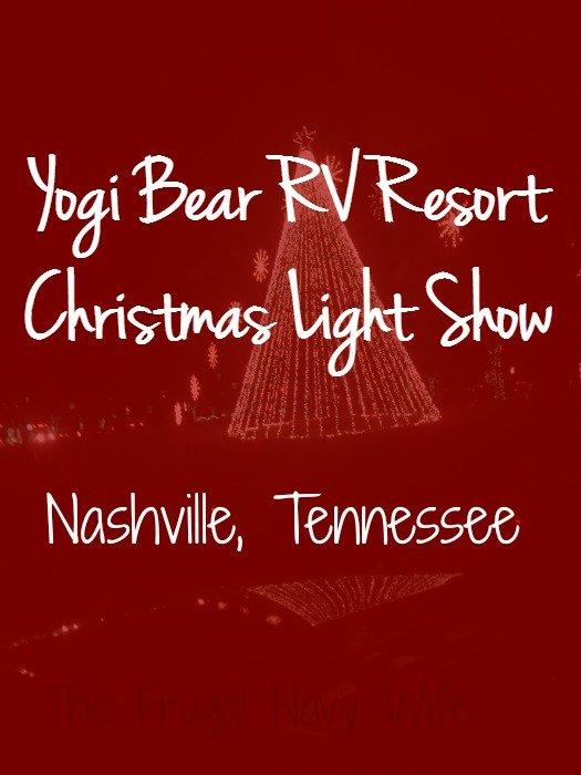 Yogi Bear RV Resort Christmas Light Show – Nashville, Tennessee