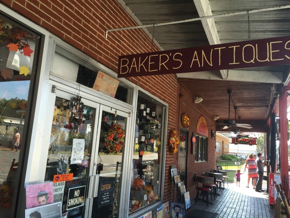Downtown Lynchburg, Tennessee Antiques