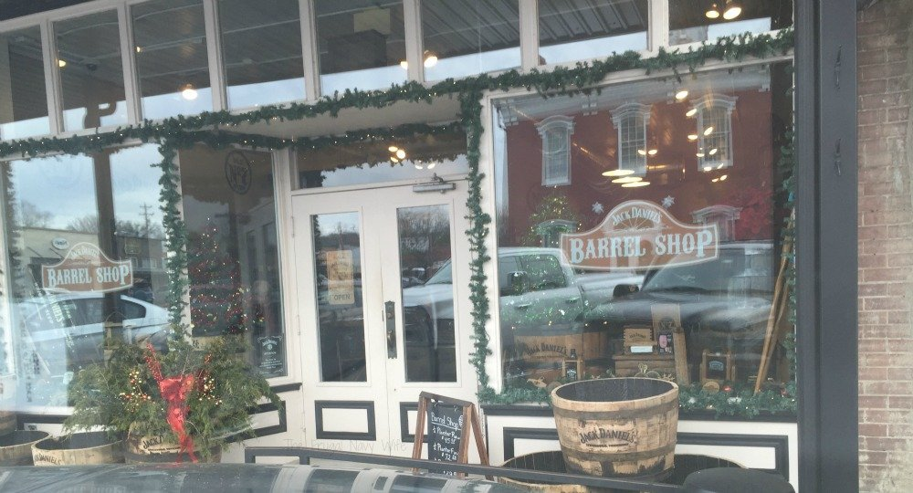 Downtown Lynchburg, Tennessee Barrel Shop