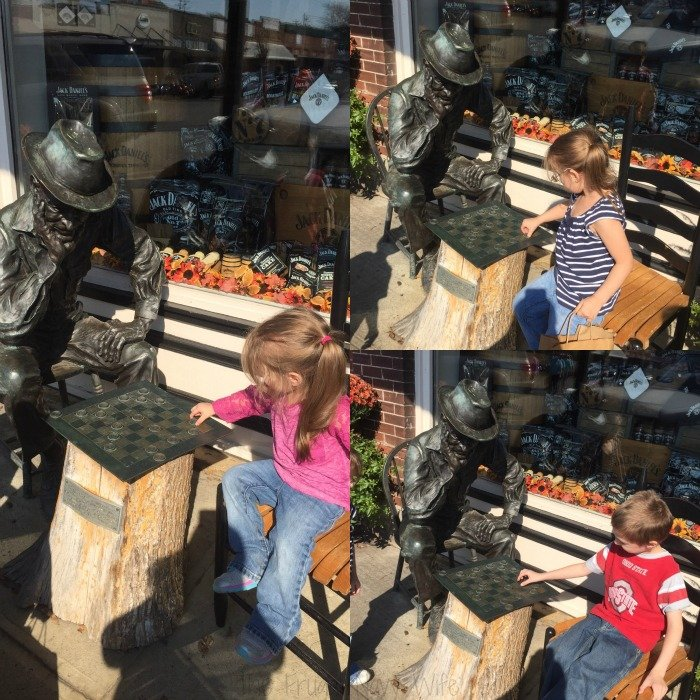 Downtown Lynchburg, Tennessee Checkers